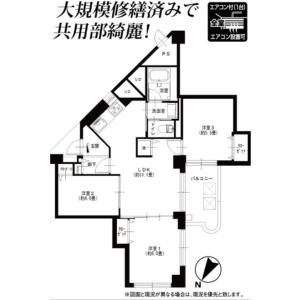練馬区 関町南 3LDK {building type} 間取り