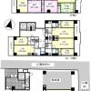 在名古屋市千種区购买整栋 公寓大厦的 楼层布局