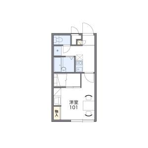 1K Apartment in Kirenishi - Osaka-shi Hirano-ku Floorplan