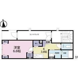 1K Mansion in Kotobuki - Taito-ku Floorplan