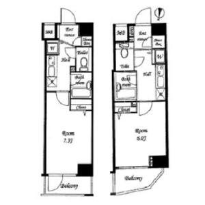 1K Mansion in Taihei - Sumida-ku Floorplan