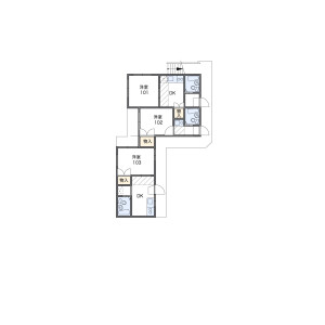 1R Apartment in Nakacho - Meguro-ku Floorplan