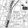 2SLDK Apartment to Rent in Adachi-ku Map
