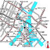 4LDK Apartment to Rent in Chuo-ku Map