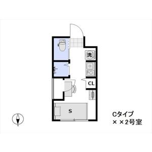 1R Mansion in Zoshigaya - Toshima-ku Floorplan