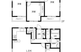 4LDK {building type} in Koenjiminami - Suginami-ku