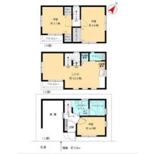 3LDK House in Ebara - Shinagawa-ku Floorplan