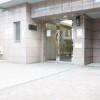 在目黒区内租赁1K 公寓大厦 的 Building Entrance