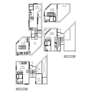 Whole Building Apartment in Uehara - Shibuya-ku Floorplan