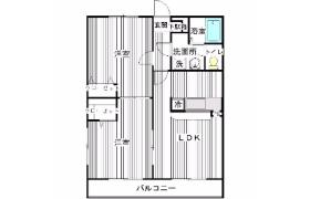 2LDK Apartment in Fujitsuka - Kasukabe-shi