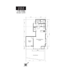 1LDK Mansion in Kawadacho - Shinjuku-ku Floorplan