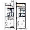 1K Apartment to Rent in Togane-shi Floorplan