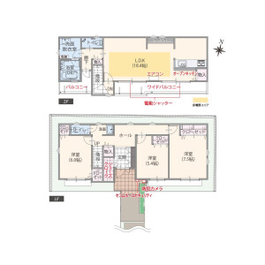 3LDK House in Minamicho - Nishitokyo-shi Floorplan
