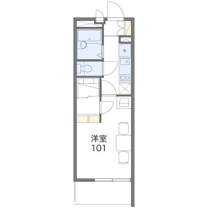 1K Mansion in Hanazonokita - Osaka-shi Nishinari-ku Floorplan