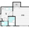 在中野區內租賃1K 公寓大廈 的房產 房間格局