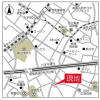1LDK Apartment to Rent in Shibuya-ku Map