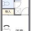 1K Apartment to Rent in Fujimino-shi Floorplan