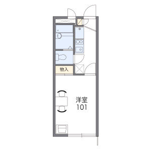 1K Apartment in Kamifukuoka - Fujimino-shi Floorplan