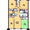 4LDK Apartment to Rent in Yokosuka-shi Floorplan