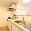 2LDK Apartment to Rent in Shinjuku-ku Kitchen