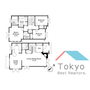 3LDK Town house in Miyamae - Suginami-ku Floorplan