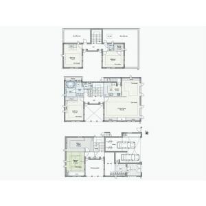 4LDK {building type} in Gohongi - Meguro-ku Floorplan