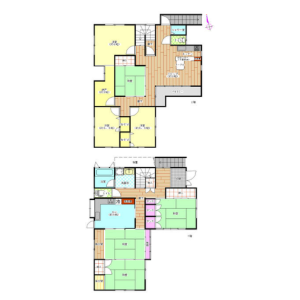 Whole Building {building type} in Nakashimojo - Kai-shi Floorplan