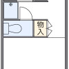 1K Apartment to Rent in Kawasaki-shi Nakahara-ku Floorplan