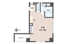 1R Apartment in Tomihisacho - Shinjuku-ku