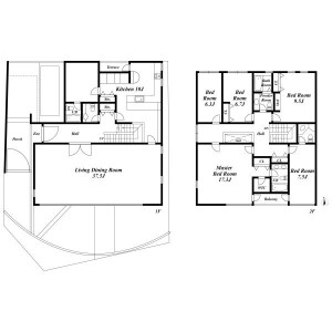 5LDK House in Seta - Setagaya-ku Floorplan