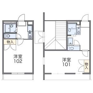 1K Apartment in Kitakoshigaya - Koshigaya-shi Floorplan