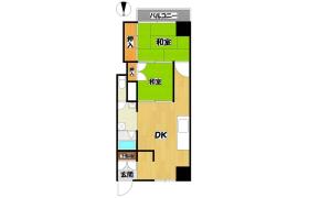 2DK Apartment in Nishinokyo minamiemmachi - Kyoto-shi Nakagyo-ku