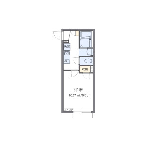 1K Apartment in Kasugacho - Nerima-ku Floorplan