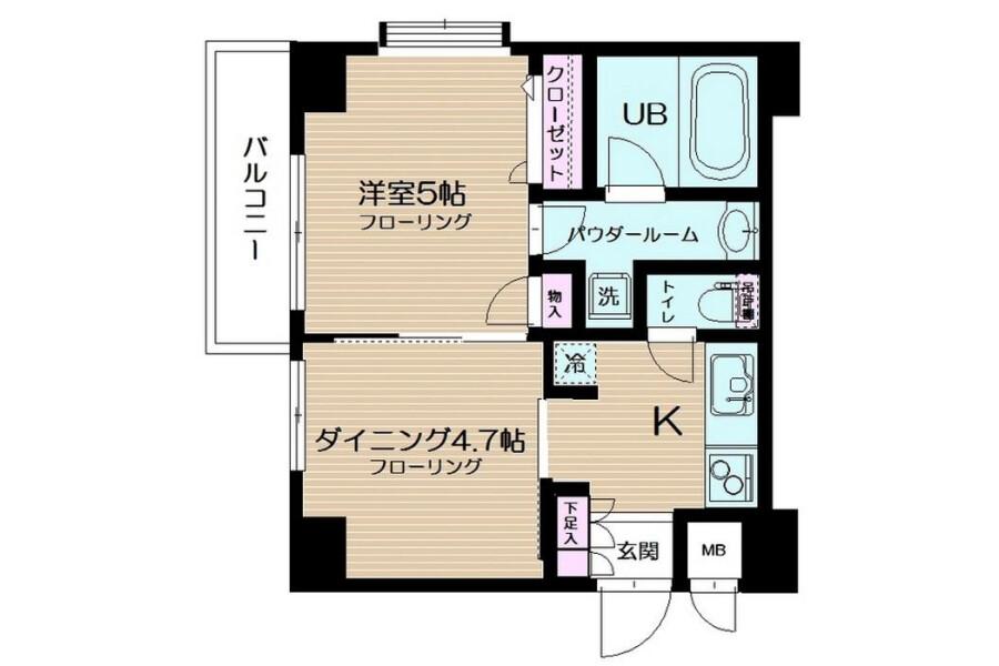 2K Apartment to Rent in Itabashi-ku Exterior