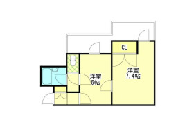 1DK Mansion in Akatsuka - Itabashi-ku