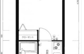 福岡市中央區白金-1K{building type}