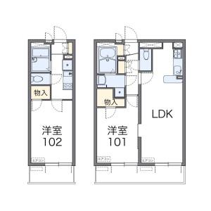 1LDK Mansion in Wakagi - Itabashi-ku Floorplan