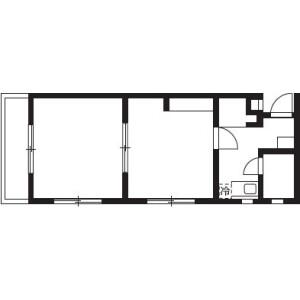 2K Mansion in Ichigayakoracho - Shinjuku-ku Floorplan