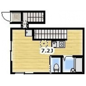 1R Apartment in Nishikamata - Ota-ku Floorplan