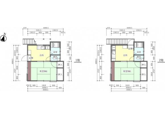 Whole Building Apartment to Buy in Adachi-ku Floorplan