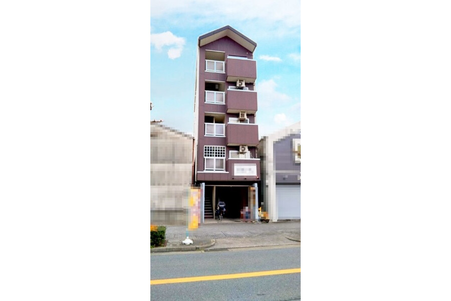 在名古屋市西區購買整棟 公寓大廈的房產 戶外