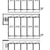 1K Apartment to Rent in Osaka-shi Konohana-ku Floorplan