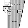 1DK Apartment to Rent in Fussa-shi Floorplan