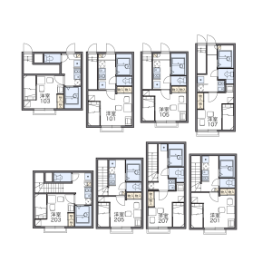 1K Apartment in Nukui - Nerima-ku Floorplan