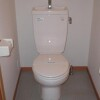 1K Apartment to Rent in Kawagoe-shi Toilet