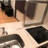 在港區內租賃1DK 公寓大廈 的房產 廚房