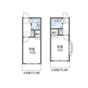 1K Apartment in Kitaotoshicho - Neyagawa-shi Floorplan