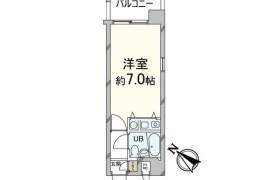 1R Apartment in Shirogane - Fukuoka-shi Chuo-ku