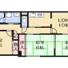 3LDK Apartment to Rent in Ibaraki-shi Floorplan