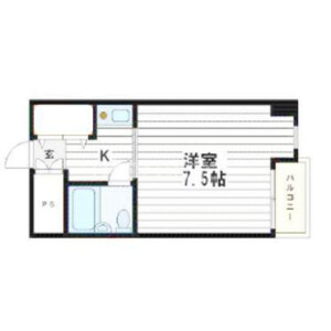 1K Mansion in Uchihommachi - Osaka-shi Chuo-ku Floorplan